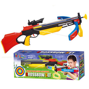 Kids Children Infrared Crossbow Archery Set & Kits Home Garden Activity Games