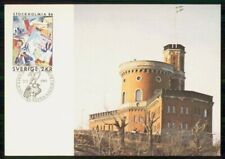 Mayfairstamps Sweden Fdc 1985 Maximum Card Stockholmia Building wwk18501