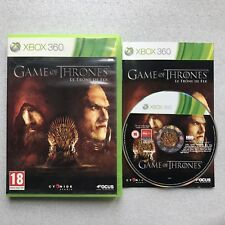 Game of Thrones - Le Trône de fer - Jeu XBOX 360 - Complet - PAL FR