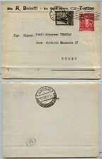 REGNO-Proclamazione Impero 20c+30c(440-442)-Busta Torino->Cuneo 18.10.1939