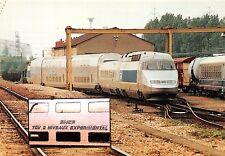 CP 94600 CHOISY LE ROI VILLENEUVE PRAIRIE TRAIN Rame expérimentale TGV 2N