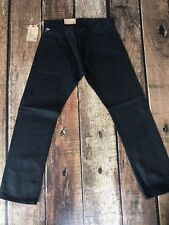 Denim Supply Ralph Lauren Straight-Leg Comstock Jeans West Lynn Black 36x32 New