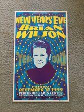 Brian Wilson Concert Poster Nye 1999 Redondo Beach Mint Beach Boys London