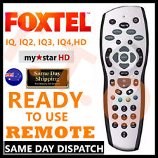 FOXTEL PAYTV READY TO USE REMOTE Replacement For FOXTEL MYSTAR HD & PAYTVS SILVE