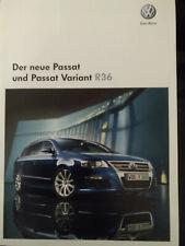 Für Fans ! VW Passat R36  Originalprospekt aus 2008