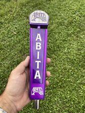 Abita Purple Draft Beer Tap Handle Louisiana mancave collection