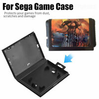 5Pcs Empty Replacement Game Clam-Shell Boxes Cases For Sega Genesis Cartridge