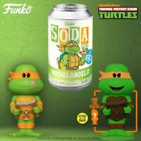 Funko Vinyl Soda TMNT Michelangelo with 1:6 Possible Chase - [PRE ORDER]