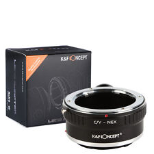 C/Y to Sony E NEX-5C A7 Adapter for Contax Yashica to Lens Sony DSLR K&F Concept