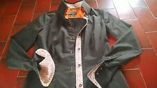 7CAMICIE Camicia camicetta donna cotone maniche lunghe rifinitissima tg S
