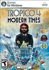 Tropico 4: Modern Times (PC, 2012)  *New,Sealed*