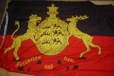 Riesen große Königreich Württemberg XXL Flagge Fahne Hissfahne 250 x 150 cm