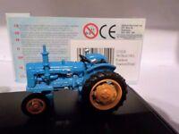 Fordson Tractor,  Blue, Oxford Diecast 1/76 New Dublo, Railway Scale