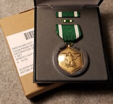 Navy Marine Corps Commendation Medal Full Size New In Box w/ Ribbon & Lapel Pin