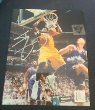 SHAQUILLE O'NEAL SIGNED 8X10 PHOTO LOS ANGELES LAKERS KOBE W/COA+PROOF RARE WOW