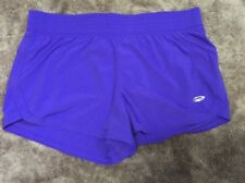 "pre-loved ""action sports ELITE"" purple active sport shorts size 14"