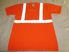 authentic COMAIR ramp agent REFLECTIVE safety T-shirt Male L large DELTA airline