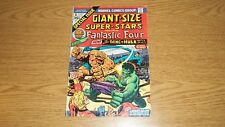 GIANT SIZE SUPER-STARS MARVEL COMICS 1974 SERIES #1 THING VS HULK FANTASTIC FOUR