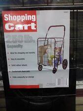 Apex Shopping Cart 250 Lb. Capacity. New #Sc9014