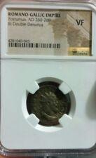 Romano-Gallic Empire Postumus Ad 260-269 Bi Double-Denarius .Ngc Vf certified