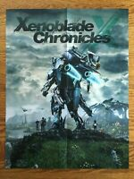 Official Xenoblade Chronicles X / Star Fox Zero 2-Sided Poster Authentic Wii U