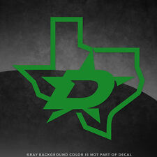 """Dallas Stars Nhl Vinyl Decal Sticker - 4"""" and Larger - 30+ Color Options!"""