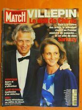 Paris Match 2924 du 02/06/2005-Villepin- Perpignan Beurs & Gitans s'affrontent
