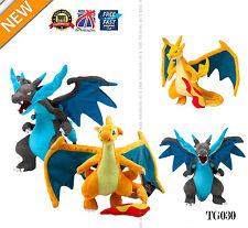 2 PCS 10'' Pokemon Plush Toys XY Version Lush Dolls Dragon Action Toy Set TG030