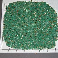 AMAZONITE 1-3mm tumbled 1/2 lb bulk xxmini stones, turquoise sand