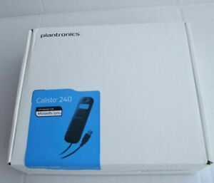 Plantronics Calisto P240-M USB Portatile 57250.002 Per Microsoft Lync Con Stand