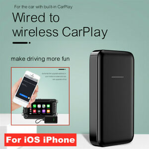 USB Map/Music/Navigation From Wired To Wireless Carpaly Dongle w/Light For iOS
