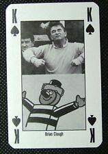 1 x playing card 90 Minutes Football Brian Clough King of Spades