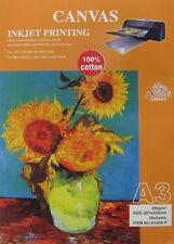 Phoenix A3 Inkjet Printing Canvas 20 Sheets