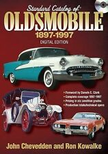 Standard Catalog of Oldsmobile 1897-1997 CD by John Gunnell
