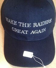 Oakland Raiders Hat MAKE THE RAIDERS GREAT AGAIN Embroidered Hat Cap