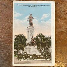 Vintage Cuban Postcard Republica De Cuba Tarjeta Postal