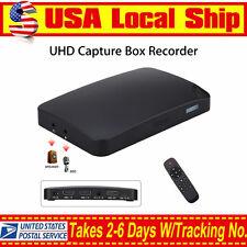 UHD 1080P 30FPS HDMI Capture USB2.0 HDMI AV Capture Card Box For PS4 PC STB BOX