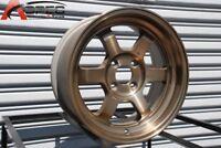 15x7 Rota GRID V 4x100 +20 Full Royal Sport Bronze  (Set of 4)
