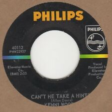 Kenni Woods Can't He Take A Hint Phillips Soul Northern Motown