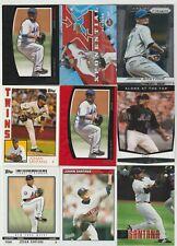 (15) card Johan Santana mixed lot, Minnesota Twins legend  w/ #/1199