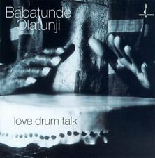 Love Drum Talk - Babatunde Olatunji (1997, CD NIEUW)