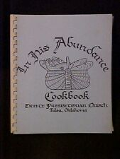 In His Abundance Cookbook, Trinity Presbyterian Church Tulsa OK