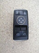 12 MERCEDES BENZ C-CLASS C63 AMG 6.2L V8 SFI 2D COUPE MASTER POWER WINDOW SWITCH