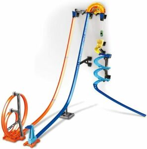 Hot Wheels Track Builder Vertical Launch Kit 50 Inches Tall Play Set Car Boy Toy