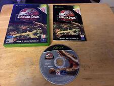 Jurassic Park Operation Genesis Xbox PAL Complete