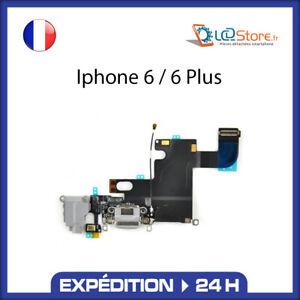 Nappe dock connecteur de charge Micro + jack IPhone  6 /  6 Plus