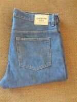 Chaps Denim Blue Jeans. 34W x 30 L