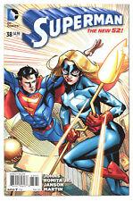 SUPERMAN (NEW 52) #38 9.2 LEE MODER 1:50 STARGIRL VARIANT W PGS 2015