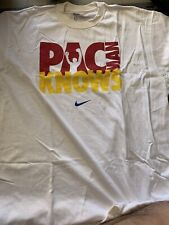 VINTAGE Authentic Nike Manny Pacquiao PacMan Knows Shirt Size Large Boxing