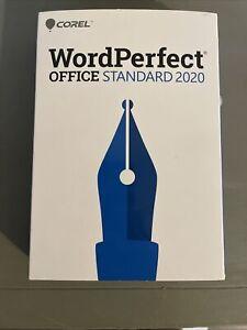 BRAND NEW Corel WordPerfect Office 2020 Standard - RETAIL BOX Sealed Spreadsheet